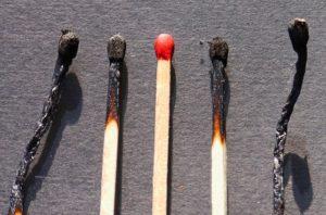 Zapałki - rozpalanie ogniska