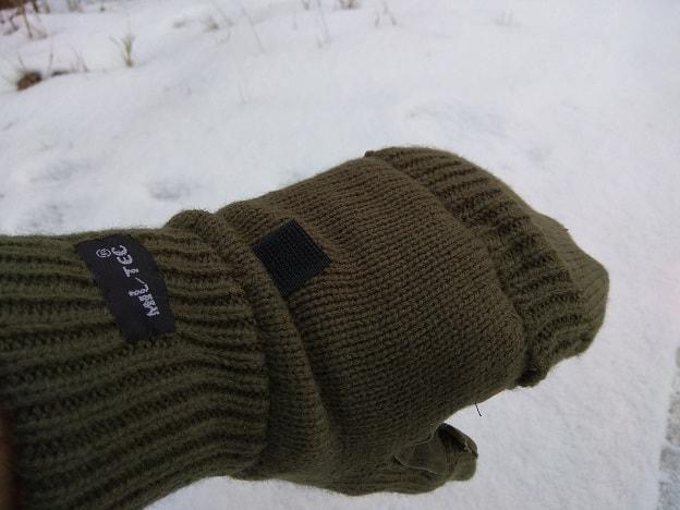 Rękawice z klapką Mil-Tec