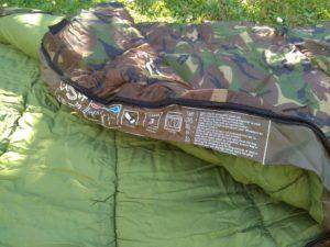 Śpiwór Cadet parametry