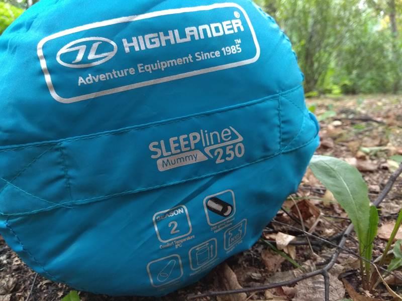 Śpiwór turystyczny Sleepline 250 Mummy
